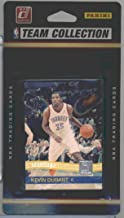 2010 / 2011 Oklahoma City Thunder Donruss Basketball Factory Sealed 10 Card Team Set Including Kevin Durant, Russell Westbrook, Jeff Green, Cole Aldrich, Serge Ibaka, James Harden, Daequan Cook and More