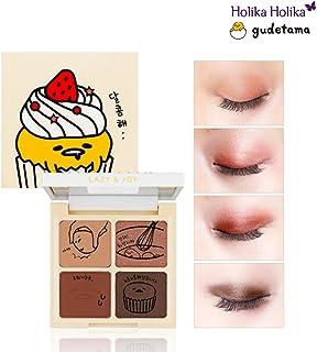 [Holika Holika] Lazy & Joy Gudetama Cupcake Eye Paltte Shadow 6g (#01 Red Velvet)