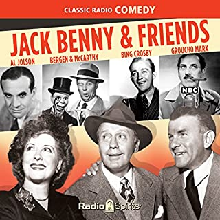 Jack Benny and Friends audiobook cover art
