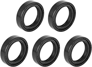 F FIERCE CYCLE 10Pcs 30mm x 40.5mm x 10.5mm Motocicleta Frontal Horquilla Choque Aceite Sello