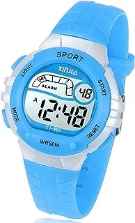 Kids Digital Watch, Girls Boys 50M(5ATM) Waterproof Multi-Functional WristWatches for Children