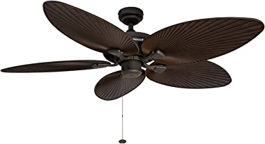 Honeywell Ceiling Fans 50202 Palm Island, Bronze