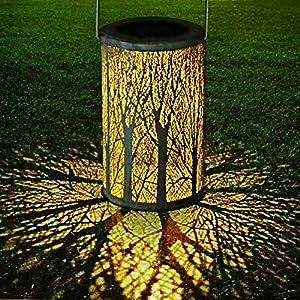 Festive Lights Farol de filamento de Cobre, Funciona con energía ...