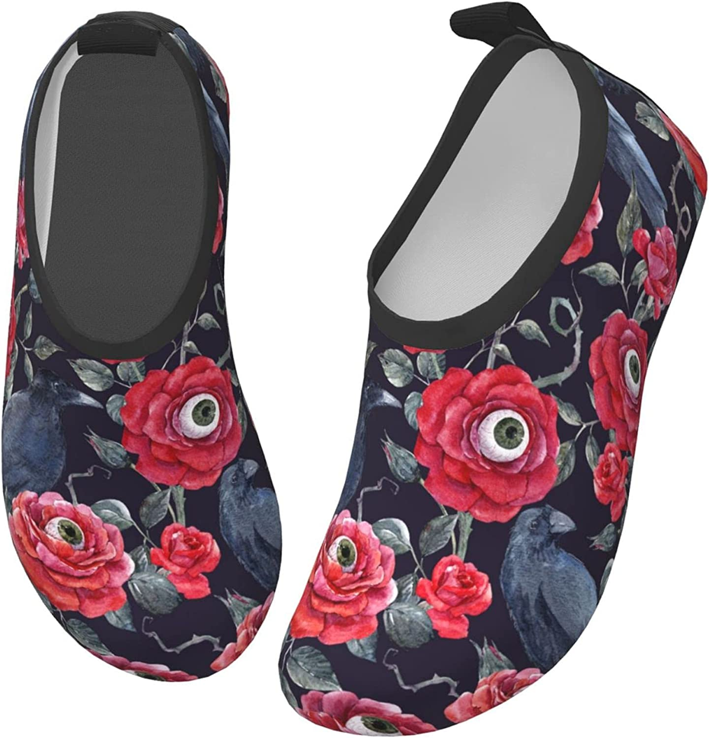 Fairy UMI Eyes of The Rose Toddler Water Shoes Non-Slip Aqua Sports Shoes Barefoot Swim Shoes Beach Surf for Boys Girls