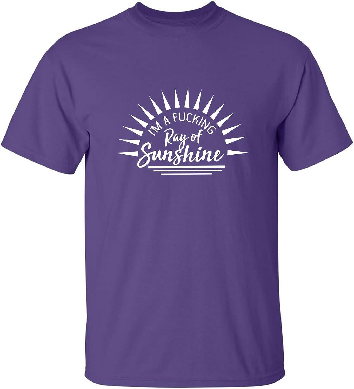 zerogravitee I'm a Fucking Ray of Sunshine Adult Short Sleeve T-Shirt