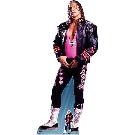 amigos familia y eventos altura 185 cm ancho 84 cm multicolor Star Cutouts Ltd SC1250 Brett Hart WWE Recorte de cart/ón de tama/ño real perfecto para fans