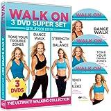 Walk On: 3-DVD Set: 6, 30 Minute Walking...