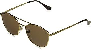 Vogue Gradient Wrap-Around Women's Sunglasses - (0VO4154SI280/7355|55|Brown Color Lens)