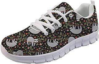 SEANATIVE Baskets tendance confortables pour femme - Chaussures de course à pied - En maille - Pour adolescentes - Chaussu...