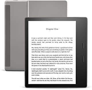 All-new Kindle Oasis - Now with adjustable warm light - Wi-Fi (8 GB) - Graphite