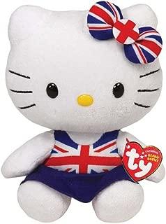 Hello Kitty Union Jack Dress Ty Beanie Babie Uk Exclusive