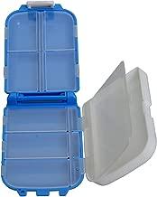 Okayji Multipurpose Small Storage Box for Pills, Medicine, Jewellery, Bottons etc (Color May Vary)
