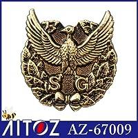 帽章(SG)金 カラー:019金 サイズ:F
