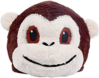 Plush Monkey Animal Head Mask Halloween Monkey Mascot Costume