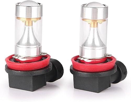 popular Mallofusa Pair sale H11 H8 H9 LED Fog Light Bulbs DRL Daytime Driving Lamp popular Bulb 30W 6000K White online sale