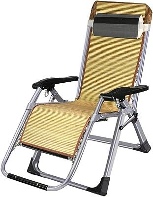 FF Zero Gravity Chairs Folding Zero Gravity Chairs with Pillow, Heavy Duty Beach Reclining Sun Lounger, for Outdoor Patio Garden Courtyard, Load 150kg