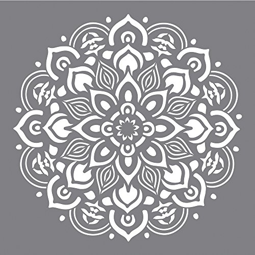 Rayher Sjabloon honingraat modieus, B-Btl 1 stuk, diverse, grijs 30,5 x 30,5 cm