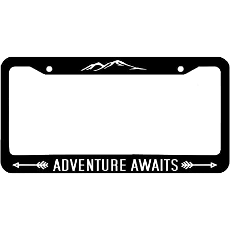 Butler Online Stores Not All Who Wander are Lost License Plate Frame Bundle with Not All Who Wander are Lost Decal