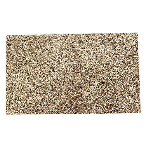 Manicure tafelmat, manicure kussen mat herbruikbare nail art salon achtergrond doek tafel pad met strass voor nagel trainer nagelverzorging nagel salon gereedschap