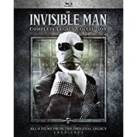 The Invisible Man Complete Legacy Collection [Blu-ray]
