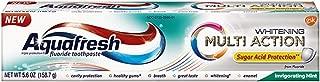 Aquafresh Extreme Clean Multi Action Whitening, Invigorating Mint, 5.6 oz Each