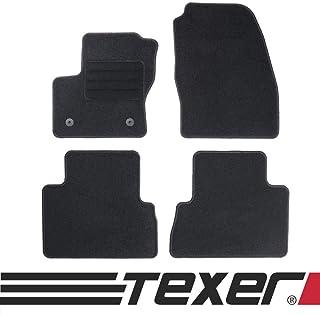 TEXER Textil Fußmatten Passend für Ford C Max II Bj. 2012 2019 Basic