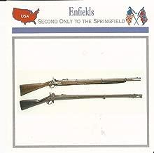 1995 Atlas, Civil War Cards, 04.15 Enfield Rifle Musket