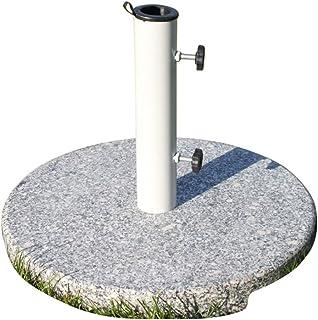 paramondo Base di appoggio per ombrelloni in Acciaio Inossidabile//Quadrata