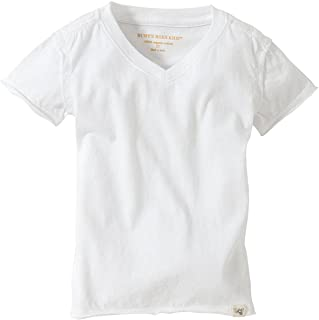 Burt's Bees Baby - Baby Boys T-Shirt, Short Sleeve V-Neck and Crewneck Tees, 100% Organic Cotton