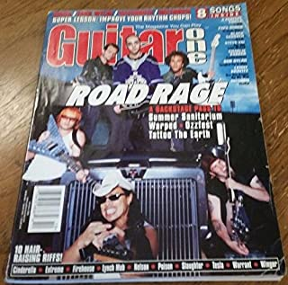 October 2000 GUITAR ONE Magazine ROAD RAGE A BACKSTAGE PASS TO OZZFEST WARPED