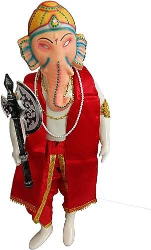 Shri Ganesha Hindu God Kids Adults Fancy Dress Costume Premium