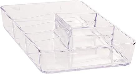 Divisória Retangular Retrô Coza Cristal 26.5X16.5X4.5cm