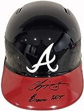 Chipper Jones Atlanta Braves Hall of Fame Autographed Signed Certified Memorabilia Full Size Batting Helmet - JSA Certified Memorabilia