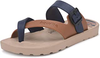 Aqualite Blue Slippers - 2 UK (35 EU) (EAL00808CBLTN02)
