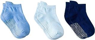 DEBAIJIA, Calcetines de Algodón para Bebé 0-5 Años Suaves Respirable Niños Niñas Cómodos Calcetines Primavera Verano Otoño
