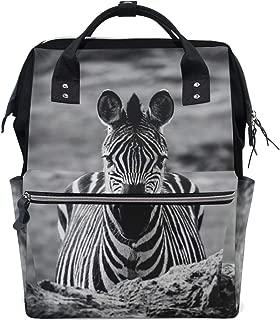 Animal Zebra Diaper Bags Nappy Backpacks Mummy Backpack Travel Laptop Daypack