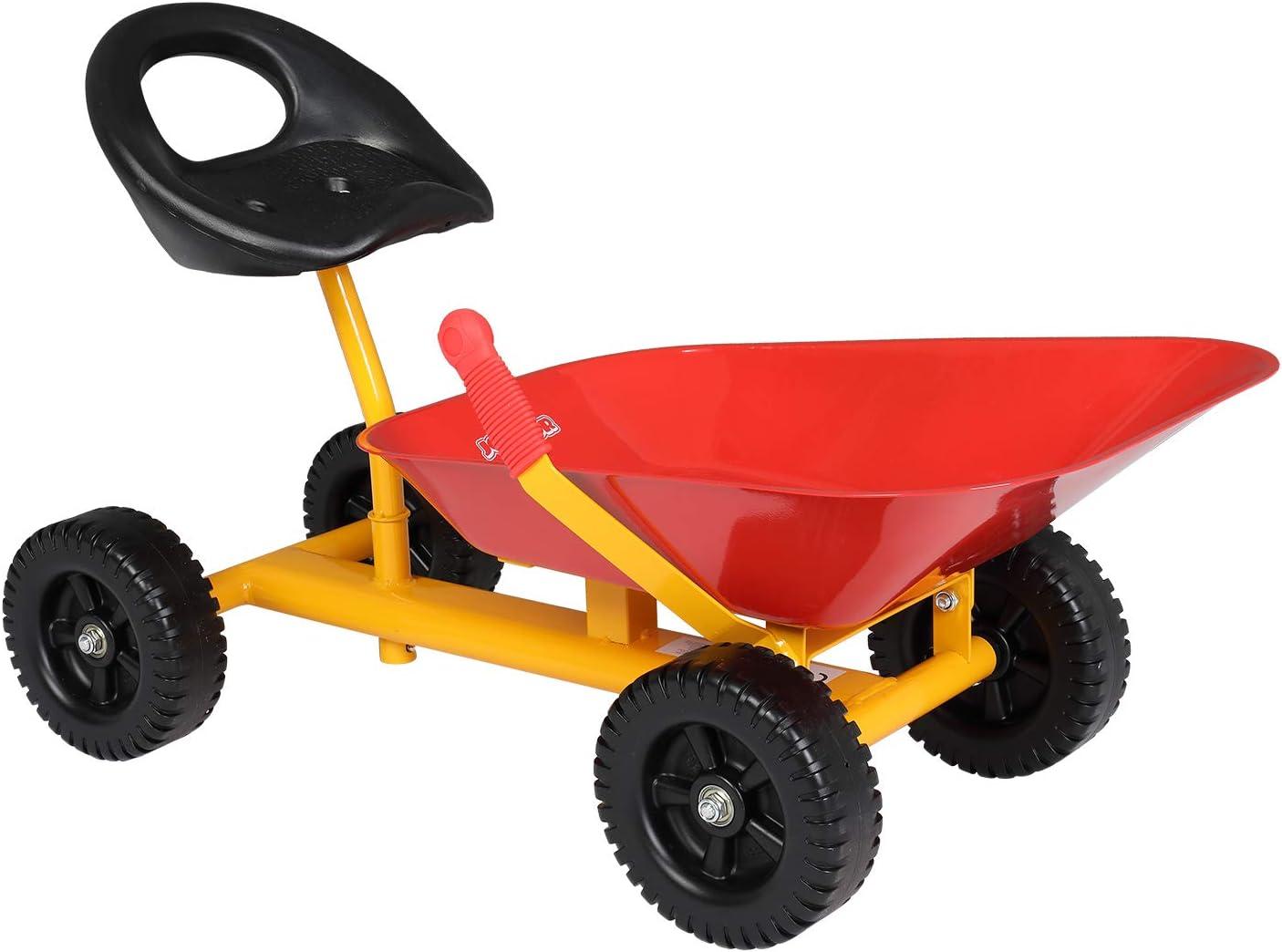JOYMOR Kids Ranking TOP12 Ride on Sand Max 40% OFF Dumper with Sandbox Toy Wheels Outdoor