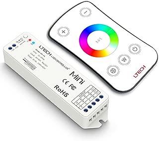 LEDENET RGBW LED Strip Light RF Controller Mini LED Controller Remote RF Wireless Control RGBW RGBWW LED Ribbon Tape Lamp (M4-Touch)