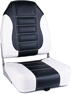 Leader Accessories High Back Folding Boat Seat