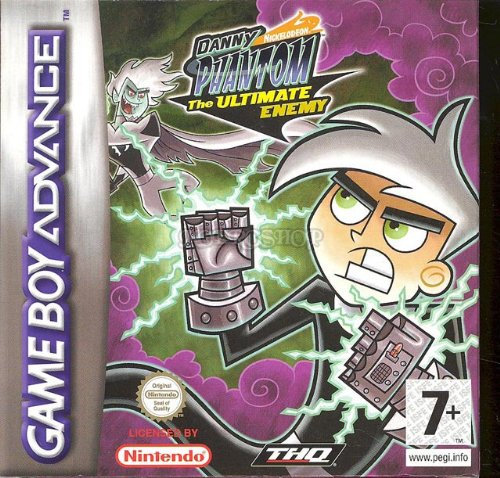 Danny Phantom the ultimate enemy - Game Boy Advance - PAL