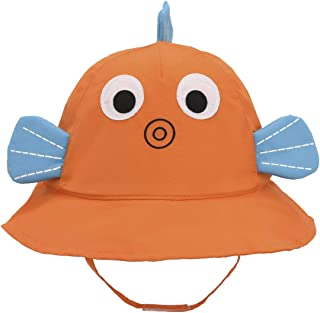 Baby Sun Bucket Hat Animal - Toddler Boy Quickly Dry Sun Protection Beach Hat