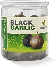 VINSULLA Black Garlic 250g Whole Black Garlic Aged for Full 90 Days Black Garlic Jar 0.55 Pounds Healthy Snack Ready to Eat or Sauce