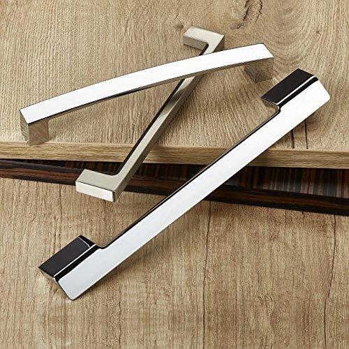 SO-TECH® Griff Möbelgriff Möbelgriffe Möbelbeschlag ST01 Chrom poliert BA 192 mm