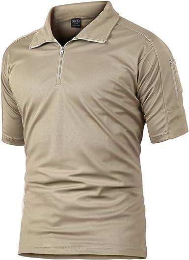 Camisa de Combate para Hombres Caza táctica Militar Polo de ...