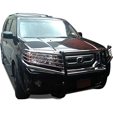 Hunter Premium Truck Accessories Stainless Steel Grille Guard Fits 03-08 Honda Pilot