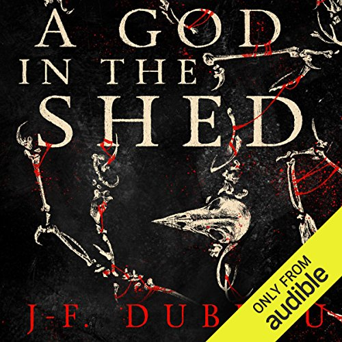 A God in the Shed audiobook cover art