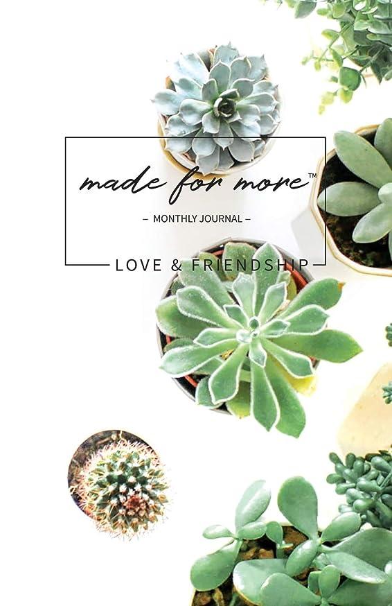 地下鉄もちろん学んだMade For More Monthly Journal: Love & Friendship