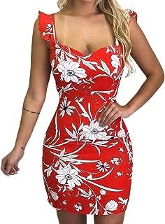 IFOUNDYOU Women Vintage Beach Maxi Dress Summer Sleeveless Flower Print Dress Ladies Deep V-Neck Boho Casual Linen Soft Loose Plus Size Long Dress