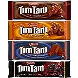 Arnott's Tim Tam Classics (4 Pack) Original, Double Coat, Caramel and Classic Dark