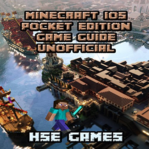 Minecraft iOS Pocket Edition Game Guide Unofficial audiobook cover art